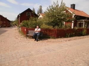 Historic part of Linkoping (Sweden)