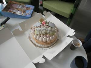 Linkoping University Cake